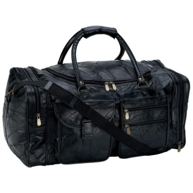 Embassy 25 in. Leather Cowhide Duffle Bg