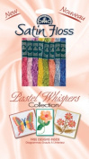 DMC 1008FPK2 Shiny Pastel Whispers Satin Floss Pack, Assorted Colour, 8.7-Yard