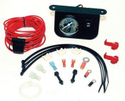 VIAIR 10061 Viair Illuminated Dash Panel Gauge Kit 20 Amp