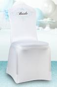 Lillian Rose WF621 Bride Chair Cover - White