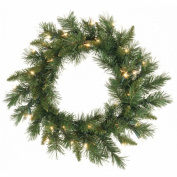 Vickerman A877319 18 in. Imperial Pine Wreath
