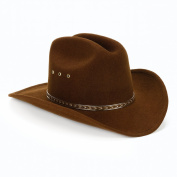 Western Express Inc. 154900 Child Cowboy Hat- Brown