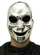 Costumes For All Occasions Mr031319 Sinister Ghost Silver Mask