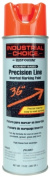 Rustoleum 203028 500ml Fluorescent Red-Orange Precision-Line Inverted Marking Pa - Case of 12
