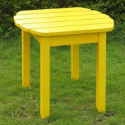 International Concepts T-51903 Adirondack SideTable in Yellow
