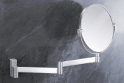 Zack 40109 FRESCO wall mirror extend. Stainless Steel