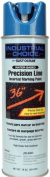 Rustoleum 203031 470ml Caution Blue Industrial Choice Precision Line Inverted M - Case of 12