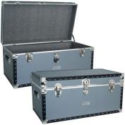 Seward Trunk 5330-31 31 in. Oversized Locker - Silver