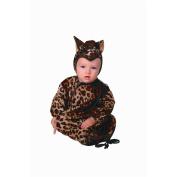 RG Costumes 70175 Little Leopard Bunting Costume - Size Newborn