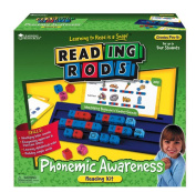 LEARNING RESOURCES LER7100 READING RODS PHONEMIC AWARENESS KIT-GR. PREK+