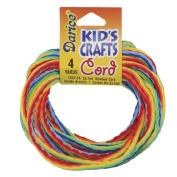Kid's Crafts Cord 3mm 4yd/Pkg-Rainbow