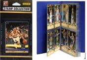 C & I Collectables 2010TRAILBTS NBA Portland Trail Blazers Licenced 2010-11 Donruss Team Set Plus Storage Album