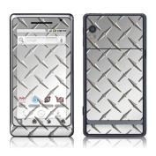 DecalGirl MDR2-DIAMONDPLATE Motorola Droid 2 Skin - Diamond Plate