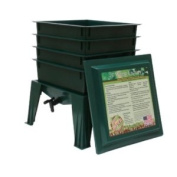 Natures FootPrint WF360GW Worm Factory 360 4 Tray with Worms - Green - continental US shipping only