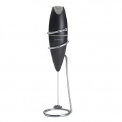 BONJOUR 53850 Oval Frother with Stand- Black