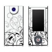 DecalGirl SBHD-WB-FLEUR Sony Bloggie HD Skin - W & B Fleur