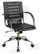 Avenue 6 - Office Star TND941A-BK Trinidad Office Chair - Black