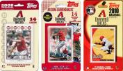 C & I Collectables DBACKS3TS MLB Arizona Diamondbacks 3 Different Licenced Trading Card Team Sets