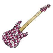 DecalGirl GHFS-SKULLY-PNK Guitar Hero Fender Skin - Skully Pink