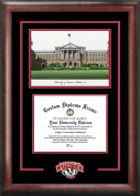 Campus Images WI995SG University of Wisconsin Spirit Graduate Frame with Campus Image