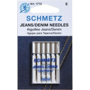 Euro-Notions 1712 Jean and Denim Machine Needles-Size 16-100 5-Pkg