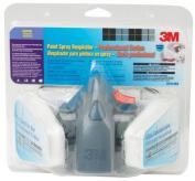 3M Professional Series Medium Half Facepiece Auto Spray Paint Respirator 37078