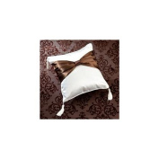 Lillian Rose RP800 BR Brown Bow Ring Pillow