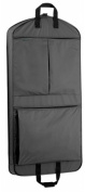 WallyBags 858Black 45 in. Extra Capacity Garment Bag with Pockets