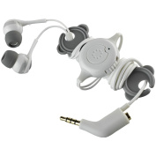 Memorex 98502 In-Ear Headphones Ie600 With Phone Control and Sharing Plug