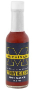 Hot Sauce Harrys 1610 MICHIGAN Wolverines Hot Sauce Cayenne - 150ml