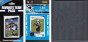 C & I Collectables 2010PANTHERSTSC NFL Carolina Panthers Licenced 2010 Score Team Set and Favourite Player Trading Card Pack Plus Storage Album