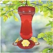 Woodstream Hummingbird W - Perky-pet Glass Top Fill Hummingbird Feeder- Red 16 Ounce - 131TF