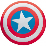 Captain America Deluxe Adult Halloween Metal Shield