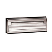Salsbury Industries 4035C Mail Slot Standard Letter Size - Chrome