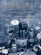 Alfred 00-HAB00095 Multiple Percussion Solos - Music Book