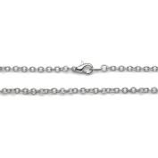 Jewellery Designer Slimpack Silver Metal Chain-46cm Large Link Chain