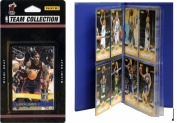 C & I Collectables 2010HEATTS NBA Miami Heat Licenced 2010-11 Donruss Team Set Plus Storage Album