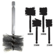 Innovative Products of America IPA8037 25-40 Mm Stainless Steel Brush Kit