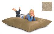 RelaxSacks 6PL-PB003 1.8m Relax Pillow Sack - Pebble MicroFiber Sand