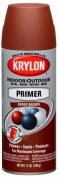 Krylon Division 51317 350ml Ruddy Brown Sandable Primer Spray Paint - Pack of 6