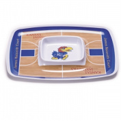 BSI PRODUCTS 32014 Chip and Dip Tray - Kansas Jayhawks