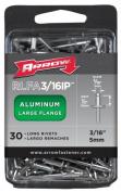 Arrow Fastener Co. .48.3cm . Large Flange Aluminium Rivets RLFA.19IP