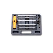 Vim Products VIMBHI100 10Pcs Extra Long SAE Ball Hex Ratcheting T-Handle Set