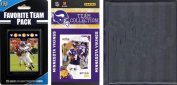 C & I Collectables 2010VIKINGSTSC NFL Minnesota Vikings Licenced 2010 Score Team Set and Favourite Player Trading Card Pack Plus Storage Album