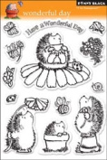Penny Black 460005 Penny Black Clear Stamp 13cm . x 19cm . Sheet-Wonderful Day