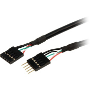 STARTECH USBINT5PINMF EXTEND YOUR INTERNAL 5-PIN USB IDC MOTHERBOARD HEADER CABLE BY 18 INCHES - INTER