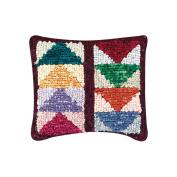 Quilt Mates Locker Hook Pillow Kit, 30cm - 1.3cm x 36cm , Flying Geese