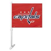 Fremont Die 88907 Washington Capitals Car Flag with Wall Brackett