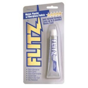 Flitz Metal, Plastic and Fibreglass Polish Paste in 50ml Blister Tube
