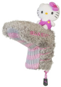 Williams Sports Holdings HC-HKG.MM.BP.G-P Hello Kitty Golf Mix & Match Putter Headcover Grey- Pink